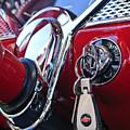 1955 Chevrolet 210 Key Ring by Jill Reger