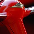 1955 Chevrolet Belair Nomad Steering Wheel 2 by Jill Reger