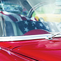 1955 Chevy Bel Air With Flag by Gaetano Chieffo