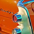 1955 Dodge Coronet Tail Light Emblem -0086c by Jill Reger