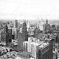 1955 Downtown Chicago by Underwood Archives