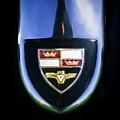1955 Studebaker President Speedster Emblem -0496c45 by Jill Reger