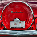 1955 Thunderbird by Elaine Manley