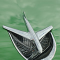 1956 Buick Riviera Hood Ornament by Jill Reger
