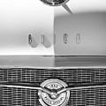 1956 Buick Special Hood Ornament - Emblem -0538bw by Jill Reger