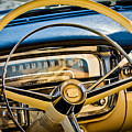 1956 Cadillac Steering Wheel by Jill Reger
