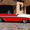 1956 Chevrolet Belair Convertible by Jill Reger