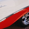 1956 Chevrolet Belair Convertible Wheel by Jill Reger