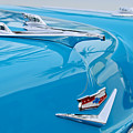1956 Chevrolet Belair Nomad Hood Ornament by Jill Reger