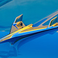 1956 Chevrolet Hood Ornament 2 by Jill Reger