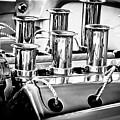 1956 Chrysler Hot Rod Engine by Jill Reger