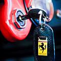 1956 Ferrari 500 Tr Testa Rossa Key Ring by Jill Reger