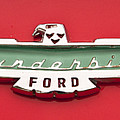 1956 Ford Thunderbird Emblem by Glenn Gordon