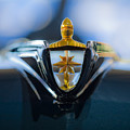 1956 Lincoln Hood Ornament by Jill Reger