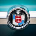1956 Mercury Monterey Emblem by Jill Reger