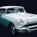 1956 Pontiac Star Chief Digital Oil by Chris Flees