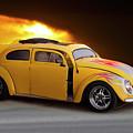 1956 Vw 'hot Rod' Bug II by Dave Koontz