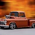 1957 Chevrolet Stepside Pickup Ll by Dave Koontz