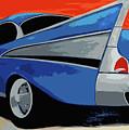 1957 Chevy Bel Air by Katy Hawk