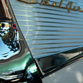 1957 Chevy Belair Fender Emblem by Jani Freimann