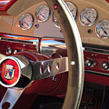1957 Ford Fairlane Steering Wheel by Jill Reger