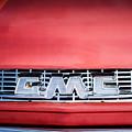 1957 Gmc Pickup Truck Grille Emblem -0329c1 by Jill Reger