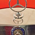 1957 Mercedes-benz 220 S Hood Ornament by Jill Reger