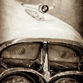 1957 Mercury Turnpike Cruiser Emblem -0749s by Jill Reger