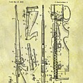 1957 Rifle Patent by Dan Sproul