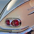 1958 Chevrolet Belair Taillight by Jill Reger