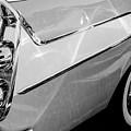 1958 Dodge Sweptside Truck Taillights -0037bw by Jill Reger