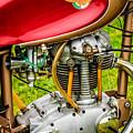 1958 Ducati 175 F3 Race Motorcycle -2119c by Jill Reger