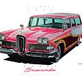 1958 Edsel Bermuda by Brian Roland