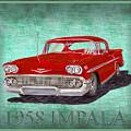 1958 Impala By Chevrolet by Jack Pumphrey