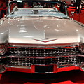 1959 Cadillac Convertible . Front View by Wingsdomain Art and Photography