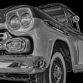 1959 Chevrolet Apache - Bw by Tony Baca