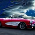 1959 Chevrolet Corvette Convertible II by Dave Koontz