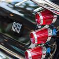1959 Desoto Adventurer Hardtop Coupe 2-door Taillight Emblem by Jill Reger