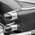1959 Dodge Custom Royal Super D 500 Taillight -0233bw by Jill Reger