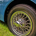 1959 Jaguar X K 150s Wire Wheel by Allen Beatty