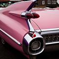 1959 Pink Cadillac Convertible by David Patterson