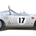 1959 Porsche Type 718 Rsk Spyder by Alain Jamar