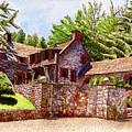 #196 Bourn Cottage by William Lum