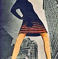 1960 70 Fashion Shot Of Female Model In Usa by R Muirhead Art