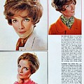 1960 70 Stylish Female Hair Styles Brown Mature Lady by R Muirhead Art