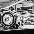1960 Buick Lesabre Convertible Steering Wheel - Radio -3028bw by Jill Reger