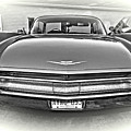 1960 Cadillac - Vignette Bw by Steve Harrington