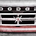 1960 Dodge Truck Grille Emblem -0275ac by Jill Reger