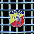 1960 Fiat Lusso Emblem by Jill Reger