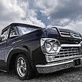 1960 Ford F100 Truck by Gill Billington